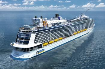 Das erste Schiff der neuen Klasse wird im Herbst 2014 getauft (Foto: Royal Caribbean)