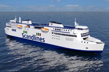 Der neue Entwurf sieht Doppelendfähren vor (Grafik: Scandlines)