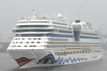 Die AIDAMAR bietet Raum für 2.192 Passagiere (Foto: AIDA Cruises)