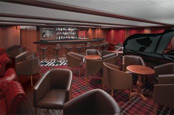 Die Porto Bar an Bord der Funchal nach ihrer Renovierung (Grafik: Portuscale)