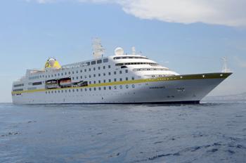 Die HAMBURG ist seit 2012 das Flaggschiff der Flotte (Foto: plantours)