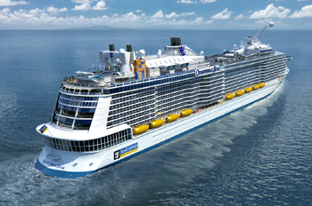 Quantum of the Seas (Grafik: Royal Caribbean)