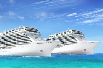 Die neue Schiffsklasse con Norwegian entsteht auf der Meyer-Werft (Grafik: Norwegian)