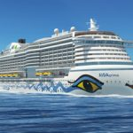 Die AIDAprima hat eine neue Bugform (Grafik: AIDA Cruises)