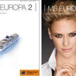 Der EUROPA 2-Katalog wird in diesem Jahr zwei Titelbilder haben - das weiße Hauptcover links und die Lifestyle-Version rechts, die es nur auf Bestellung gibt (Grafiken: HLKF)