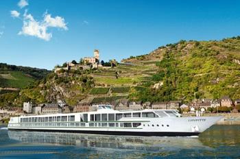 Die LAFAYETTE hat nur 42 Kabinen an Bord (Foto: Croisi Europe)