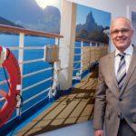 Rainer Nuyken vom Treffpunkt Schiff ist Mitbegründer der Kreuzfahrt-Initiative