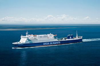 Zwischen Harwich und Esbjerg verkehrt die SIRENA SEAWAYS (Foto: DFDS)