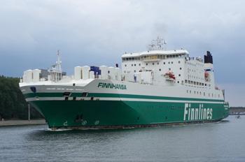 Die FINNHANSA wurde für 30 Millionen Euro an Grimaldi verkauft (Foto: Finnlines)