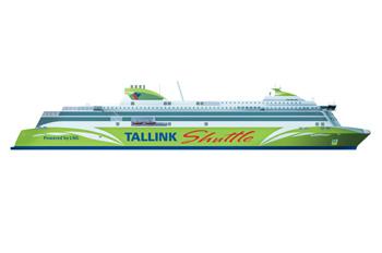 Die neue Fähre soll auf 2.800 Personen ausgelegt werden (Grafik: Tallink)
