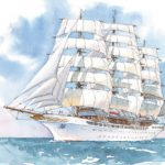 Die SEA CLOUD SPIRIT soll Raum für 136 Passagiere bieten (Grafik: Sea Cloud Cruises)