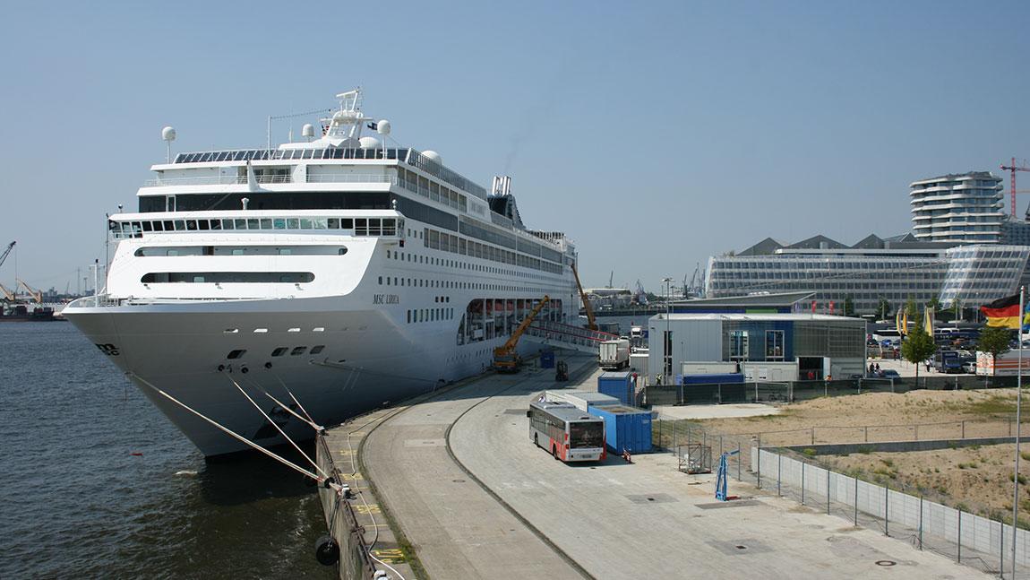 Wann in Hamburg wieder Kreuzfahrtschiffe starten, ist unklar
