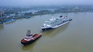 Die Überführung der HANSEATIC spirit nach Norwegen dauert voraussichtlich 24 bis 28 Tage (Foto: Hapag-Lloyd Cruises)