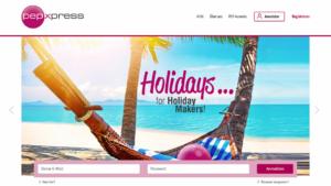 Homepage von pepXpress