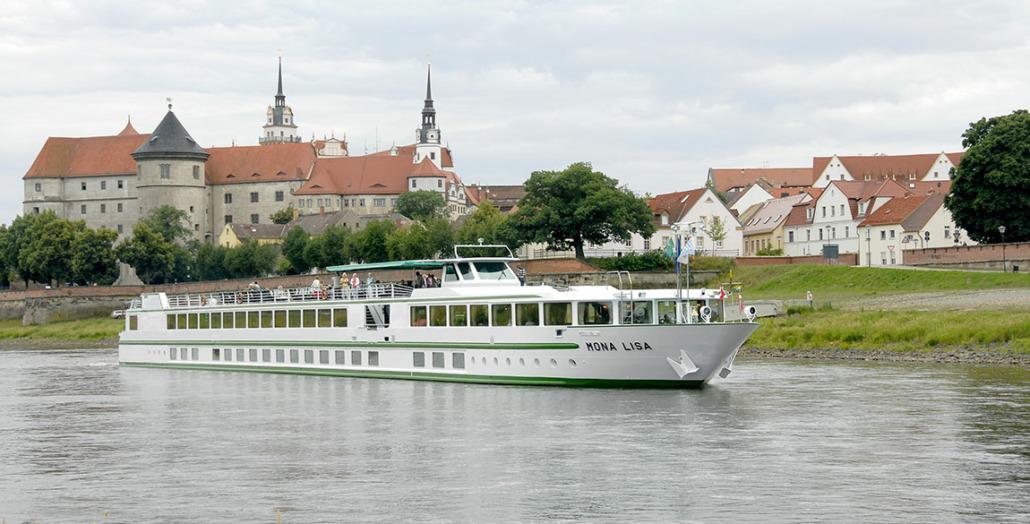 Die MONA LISA fährt für Croisi Europe 2021 auf dem Neckar und dem Rhein (Foto: Croisi Europe)