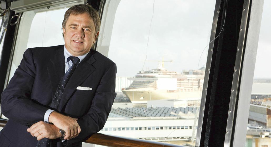 MSC-Chef Pierfrancesco Vago findet den Vorstoß einiger Reedereien schwierig, ausschließlich gegen COVID geimpfte Passagiere an Bord zu lassen (Foto: MSC)
